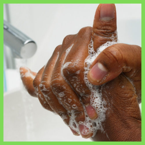 black soap hand wash