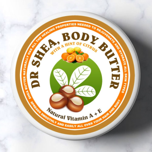 citrus body butter