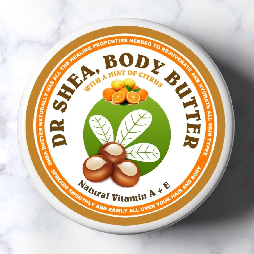 citrus body butter