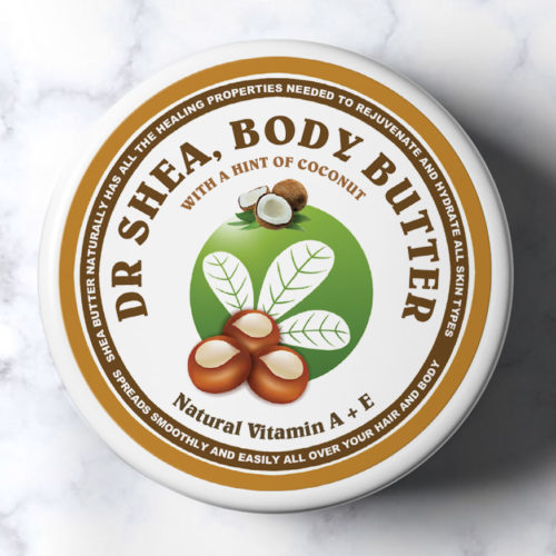Coconut Body butter 200ml by dr shea