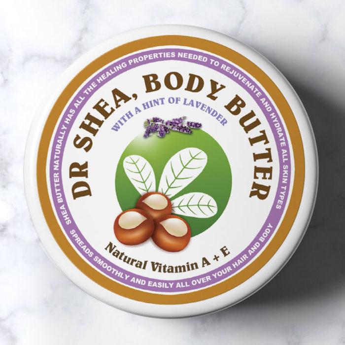 Lavender body butter 200ml dr shea