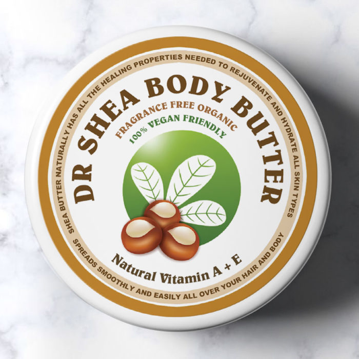 Fragrance Free body butter by dr shea 200ml