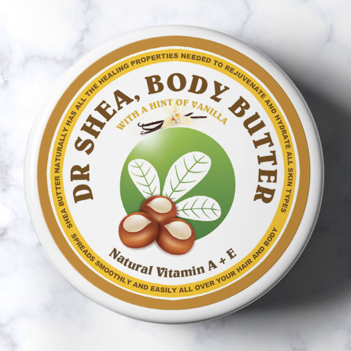 shimmer vanilla body butter by dr shea
